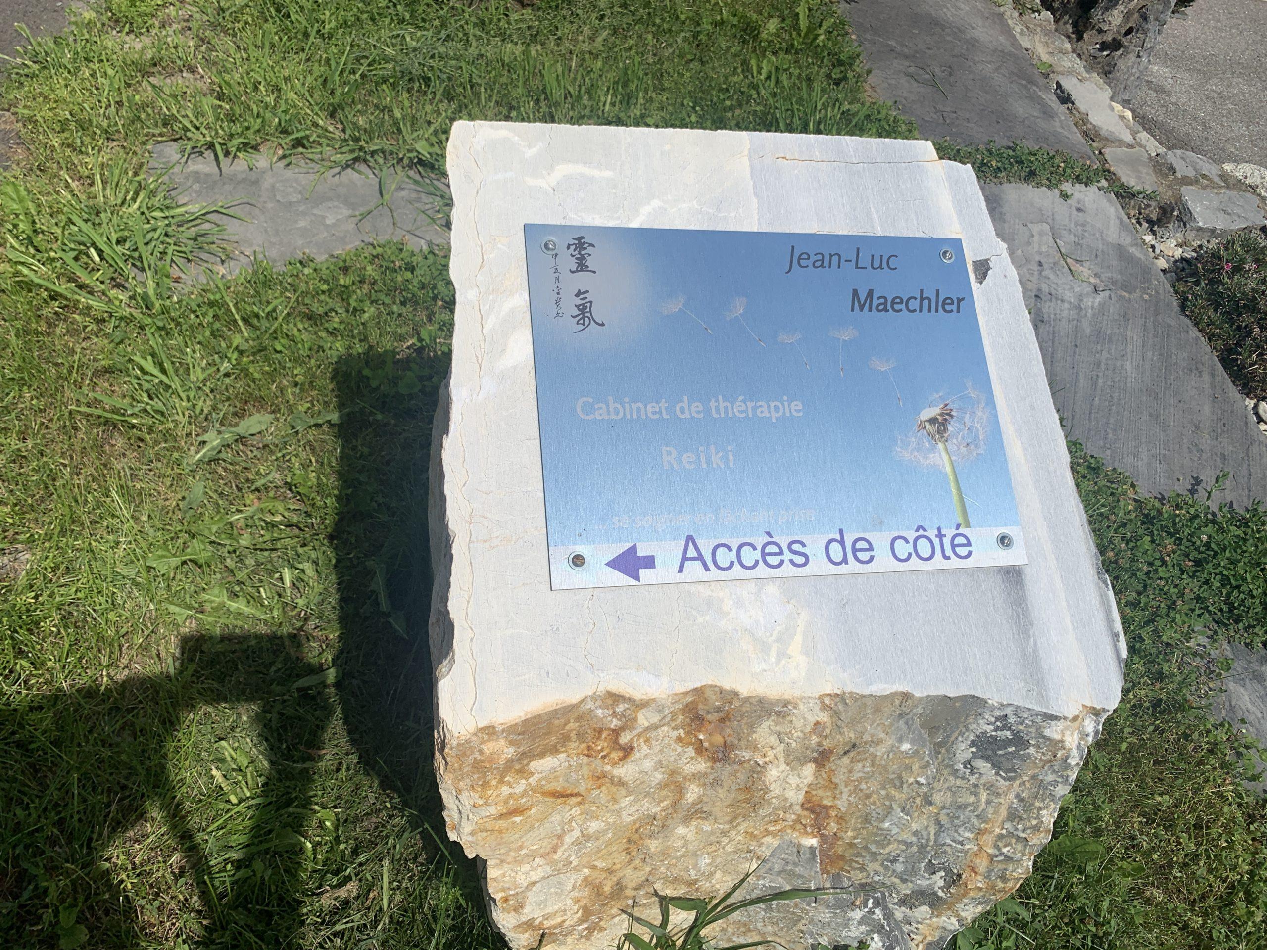 Cabinet de lâcher-prise et de santé Jean-Luc Maechler