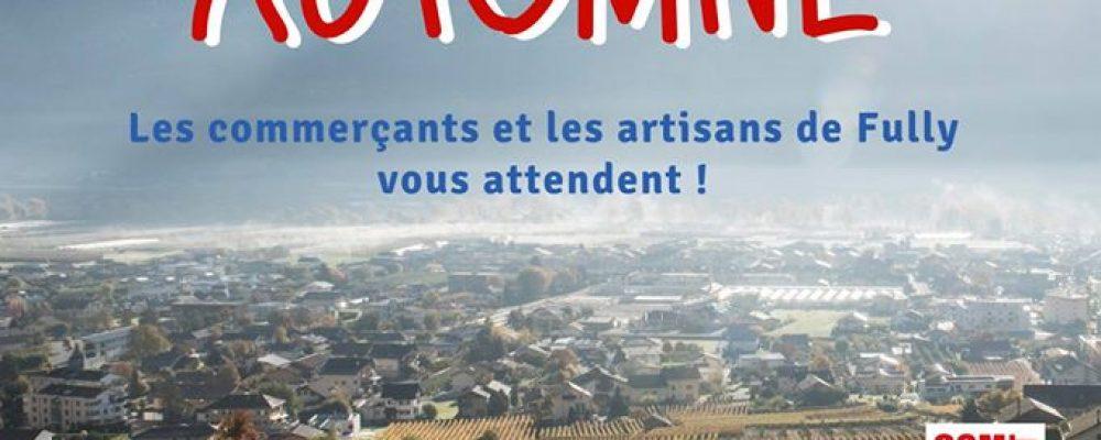 Marché d'Automne de Fully La 2e édition du Marché d'Automne