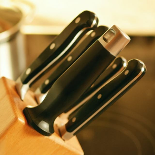 Les couteaux de Anne Sophie