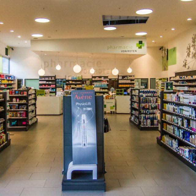 Pharmacie von Roten au Centre Commercial Migros